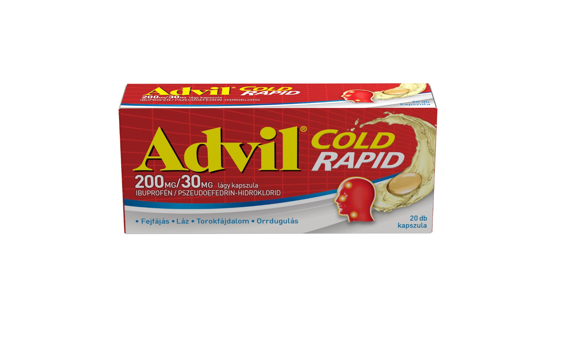 Advil Cold Rapid lágy kapszula