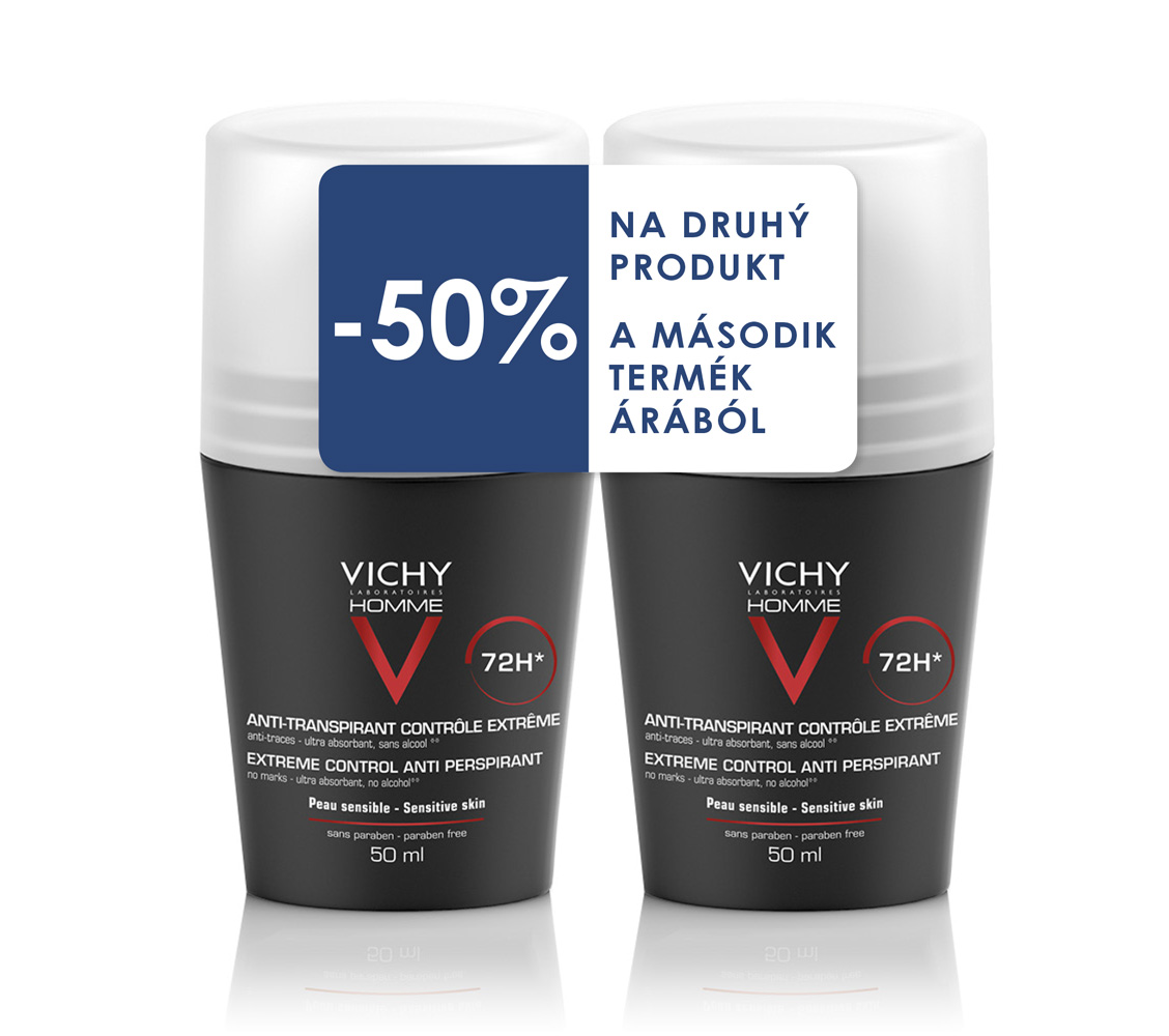 Vichy Homme deo duopack