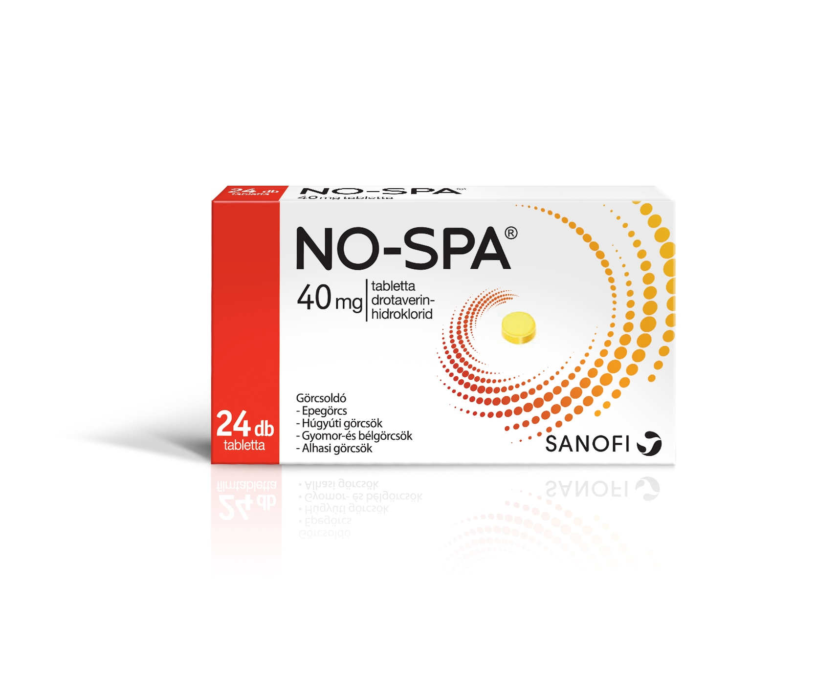No-Spa 40 mg tabletta